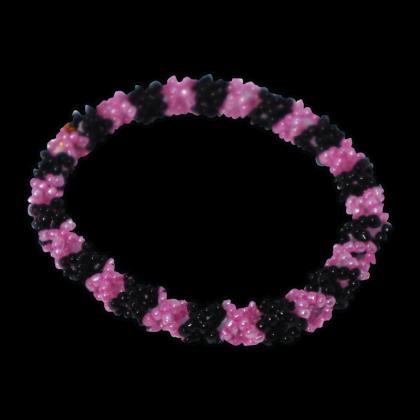 Beads Bracelet - Round Flower