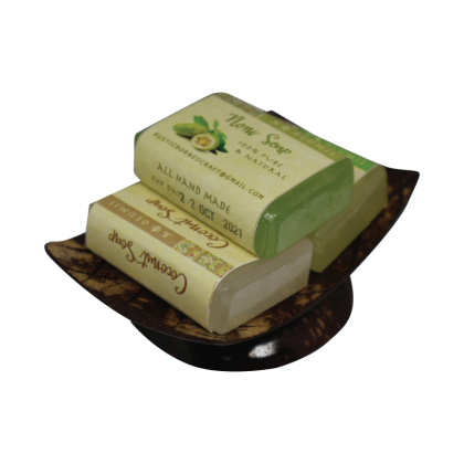 Borneo Handmade 3 in 1 Soap with Holder 37gm